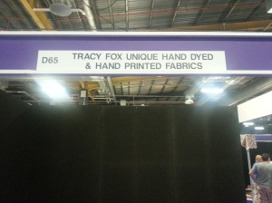 tracy fox stand at Event City