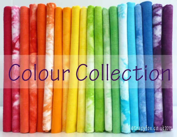 hand dyed Colour Collection by t r a c y f o x