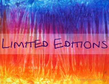 hand dyed Limited Editions by t r a c y f o x