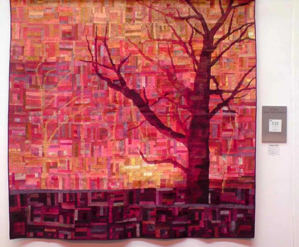 Lisa Walton Bushfire Sunset quilt