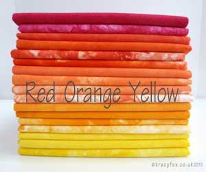 Red Orange Yellow Colour Collection by t r a c y f o x