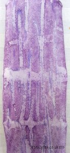 Painted Fusible Web purple t r a c y f o x