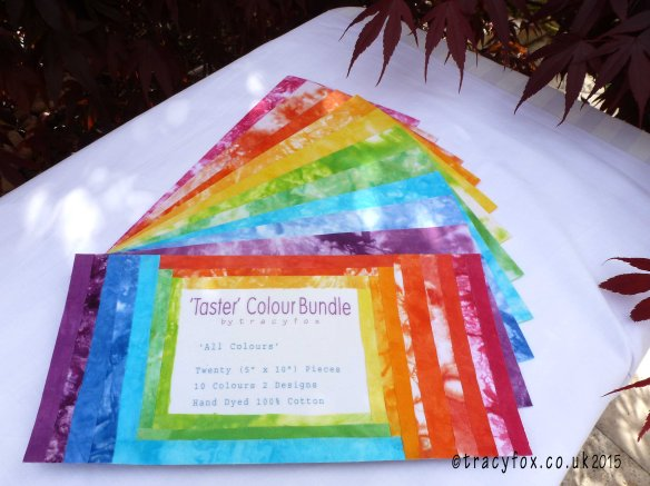 Taster Colour Bundle front page Colour Texture pages