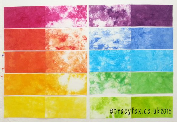 2015 Oct 25 Starter Colour Bundle Quilt Pieced 4 t r a c y f o x