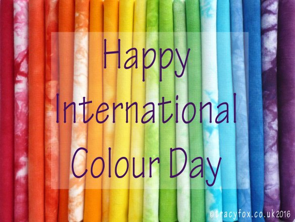 2016 Mar 21 International Colour Day t r a c y f o x