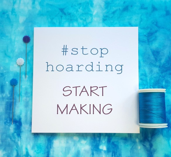 creative quote stop hoarding start making handmade cards by tracy fox