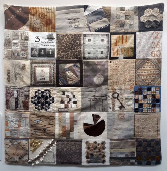 2018 FoQs Ruth Singer Collaborative Quilt tracy fox