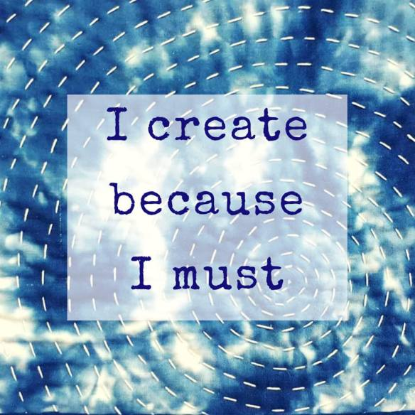 I create because I must quote tracy fox textile artist